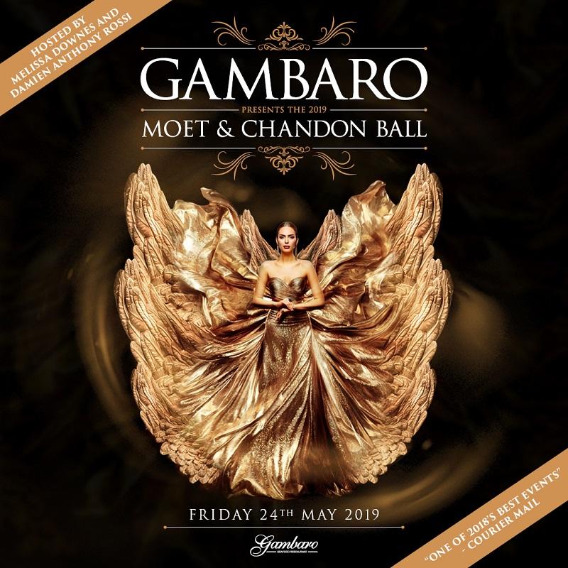 Gambaro Moet and Chandon Ball 2019